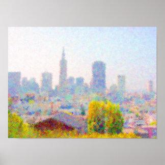 Impresso® Skyline by MB7Art Poster