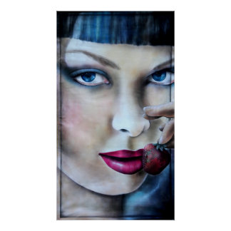 Imprimes Summerwine print poster women painting