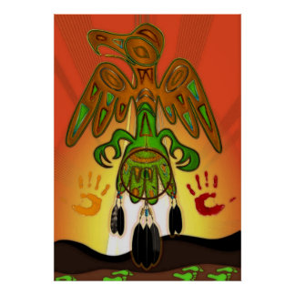 Imprint Native American Inspired Poster