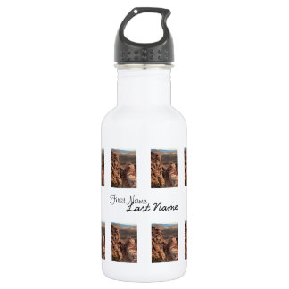 Imprint of a Man; Customizable Stainless Steel Water Bottle