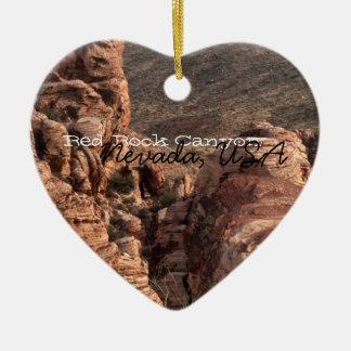 Imprint of a Man; Nevada Souvenir Ceramic Ornament
