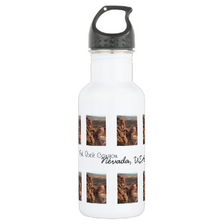 Imprint of a Man; Nevada Souvenir Water Bottle