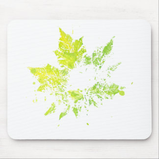 Imprint of Maple Leaf Mouse Pad