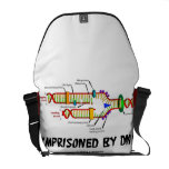 Imprisoned By DNA (DNA Replication) Messenger Bags