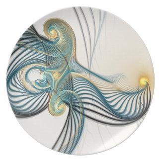 Improbable Song Melamine Plate