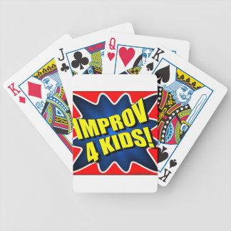 Improv 4 Kids Bicycle Playing Cards