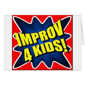 Improv 4 Kids Card