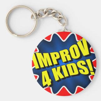 Improv 4 Kids Keychain