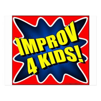 Improv 4 Kids Postcard