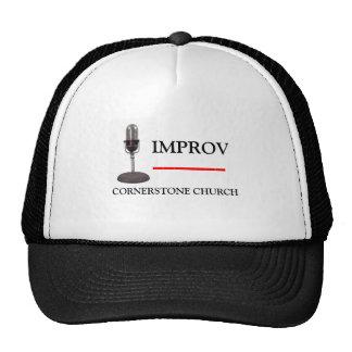 IMPROV at the Cornerstone Mesh Hats