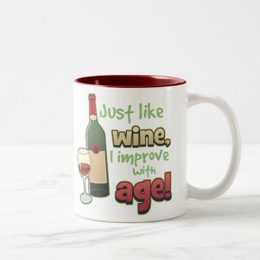 Improve With Age Mug