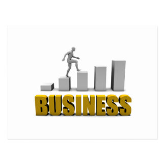 Improve Your Business  or Business Process as Conc Postcard