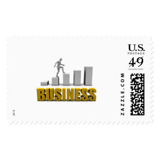 Improve Your Business  or Business Process Postage Stamp