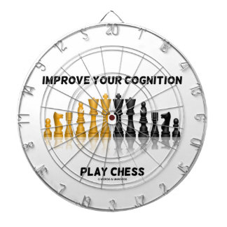 Improve Your Cognition Play Chess (Chess Set) Dart Board