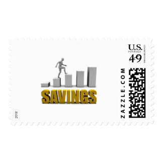Improve Your Savings or Business Process as Concep Postage