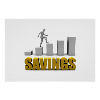 Improve Your Savings or Business Process as Concep Poster