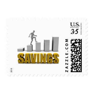 Improve Your Savings or Business Process as Concep Stamp