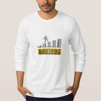Improve Your Savings or Business Process as Concep T-Shirt