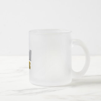 Improve Your Status or Business Process as Concept Frosted Glass Coffee Mug