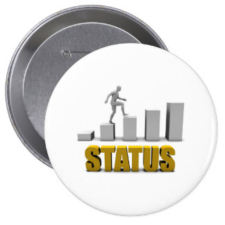 Improve Your Status or Business Process as Concept Pinback Button