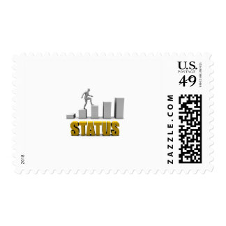 Improve Your Status or Business Process as Concept Postage
