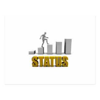 Improve Your Status or Business Process as Concept Postcard