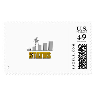 Improve Your Status or Business Process as Concept Stamp