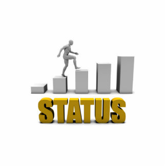 Improve Your Status or Business Process as Concept Statuette