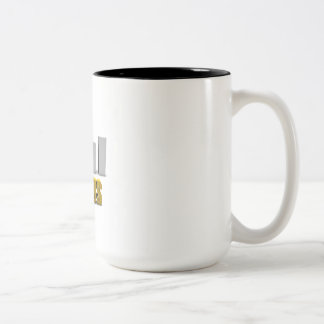 Improve Your Status or Business Process as Concept Two-Tone Coffee Mug