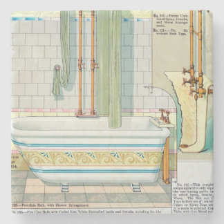 Improved Baths and Showers from a catalogue of san Stone Coaster