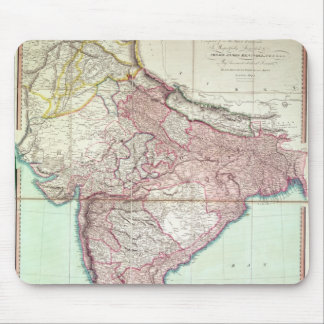 Improved Map of India published in London 1820 Mouse Pad