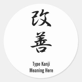 Improvement - Kaizen Stickers
