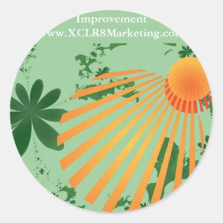 Improvement sticker sheeets