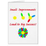 Improvement Success Greeting Cards