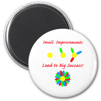 Improvement Success 2 Inch Round Magnet