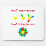 Improvement Success Mouse Pad