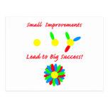 Improvement Success Post Cards