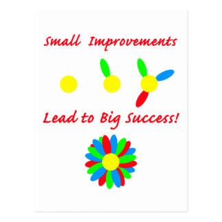 Improvement Success Postcard