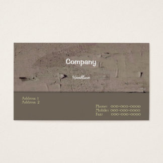 Improvements Business Card