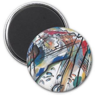 Improvisation 28 2 inch round magnet