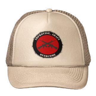Improvise, adapte, supere el gorra