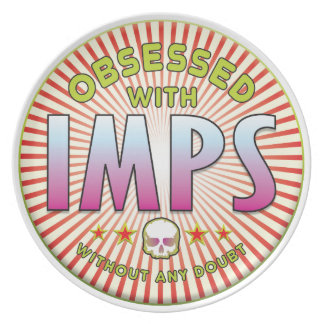 Imps Obsessed R Party Plate