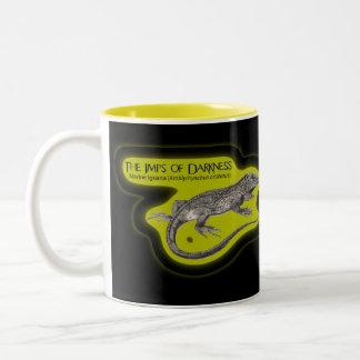 Imps of Darkness (on Dark) Two-Tone Coffee Mug