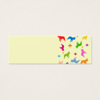Impudent Frenchie sample Mini Business Card