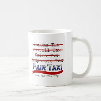 Impuesto justo taza