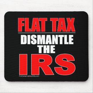 Impuesto único - desmonte el IRS Tapetes De Ratones