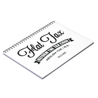 Impuesto único libro de apuntes con espiral