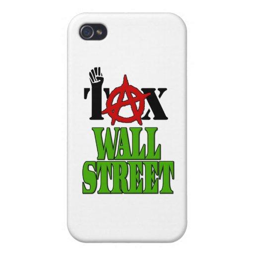 Impuesto Wall Street -- Ocupe Wall Street el 99% iPhone 4 Coberturas