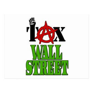 Impuesto Wall Street -- Ocupe Wall Street el 99% Postal