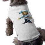 Impuestos de la limadura camiseta de perro